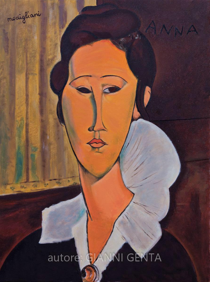 Modigliani - Anna - 45x60