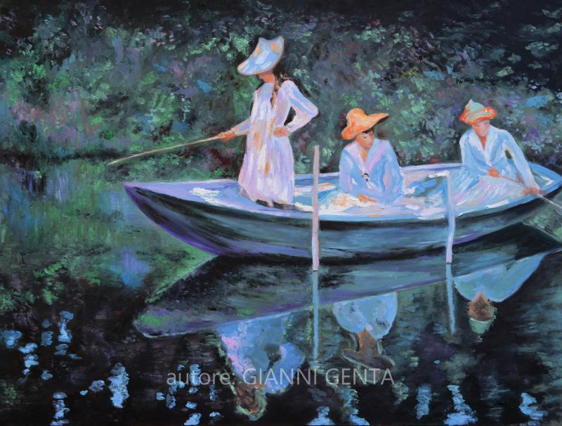 Ragazze in barca