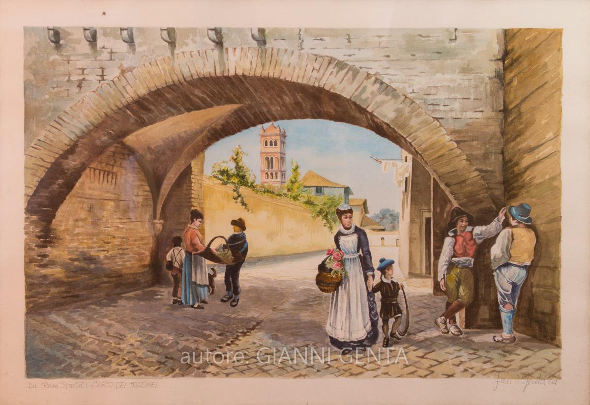 Acquarelli della Roma Sparita – n.1