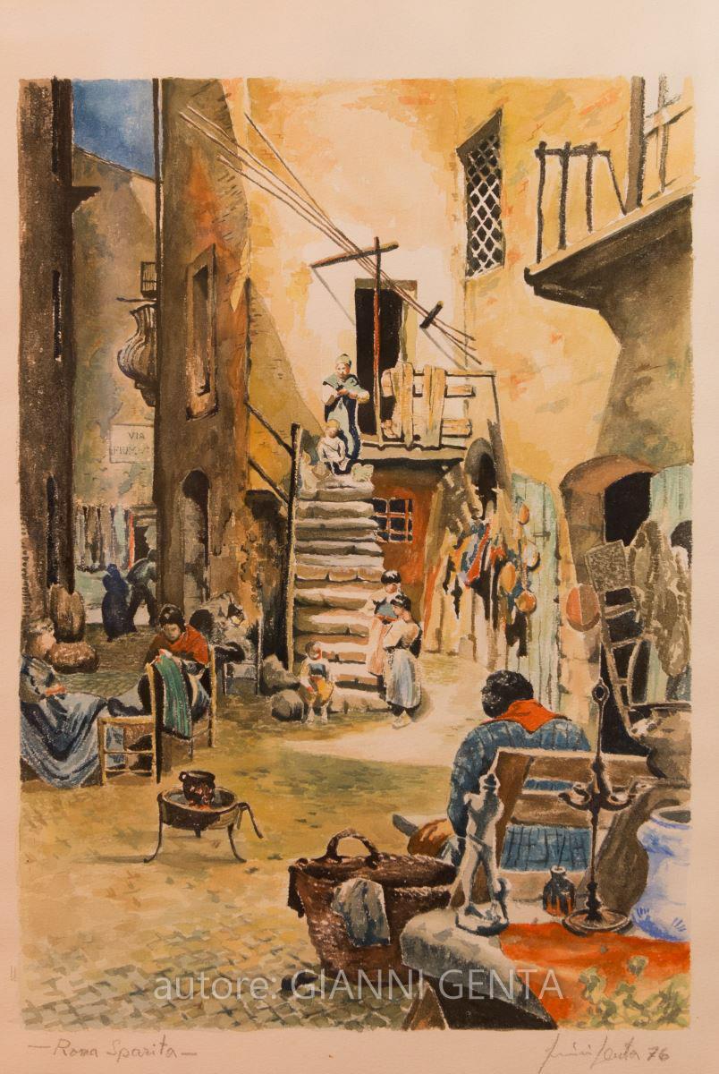 Acquarelli della Roma Sparita – n.4