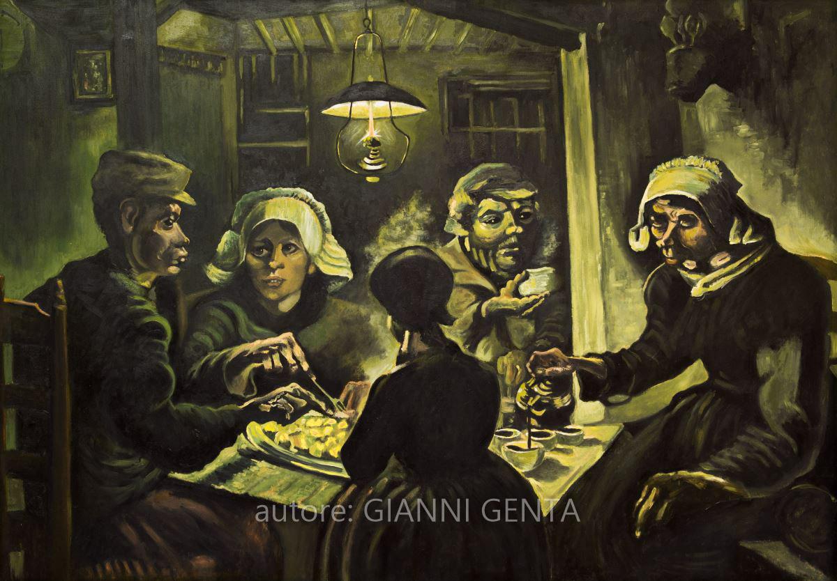 Van Gogh – I Mangiatori di patate