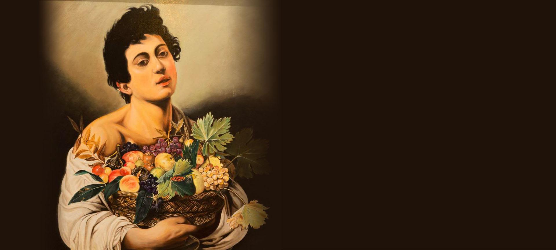 Caravaggio - Fanciullo con canestro di frutta